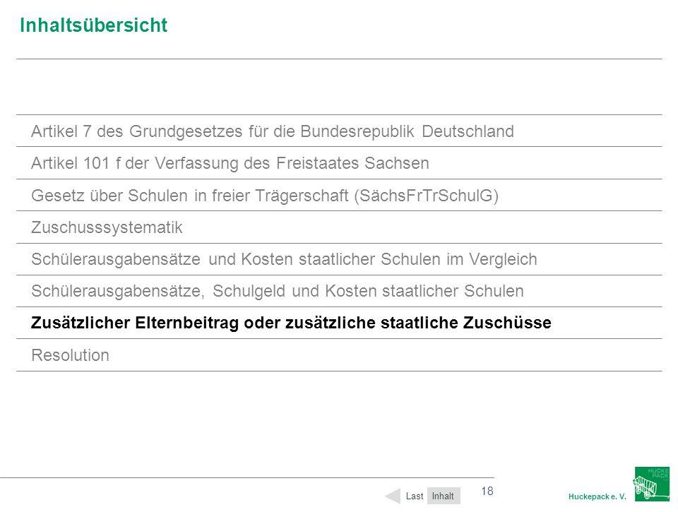 Inhaltsübersicht Artikel 7 des Grundgesetzes für die Bundesrepublik Deutschland. Artikel 101 f der Verfassung des Freistaates Sachsen.