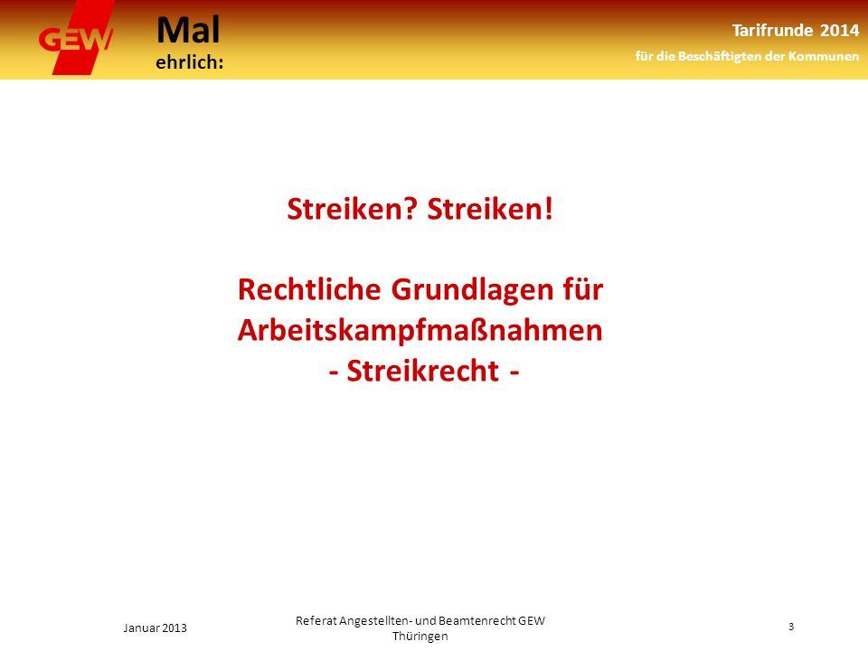 Referat Angestellten- und Beamtenrecht GEW Thüringen