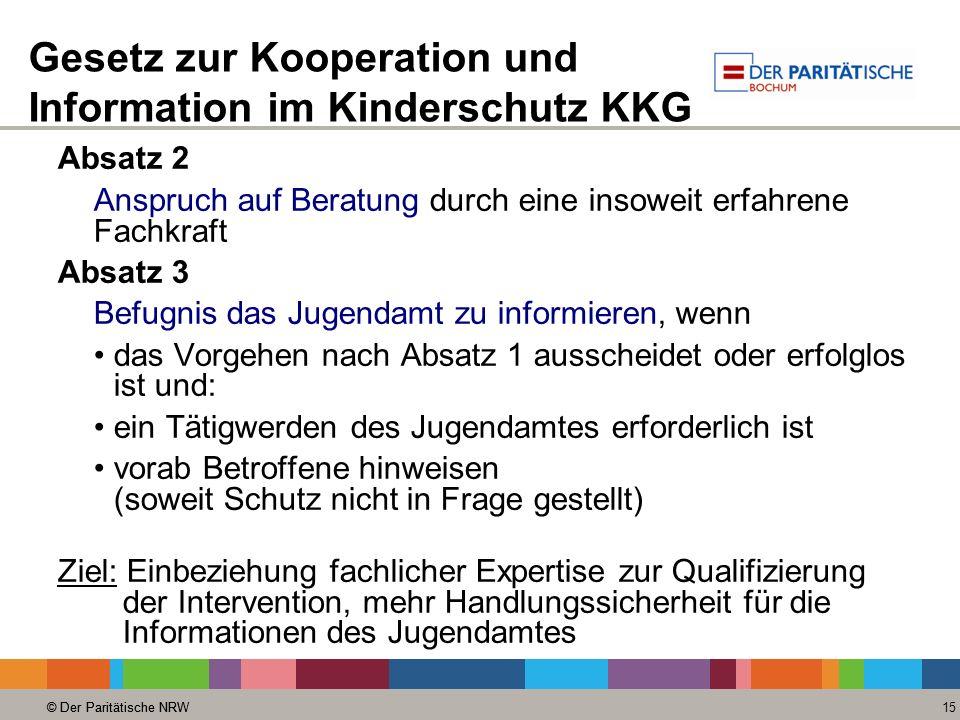Gesetz zur Kooperation und Information im Kinderschutz KKG