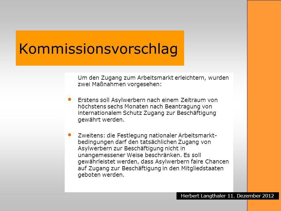 Kommissionsvorschlag