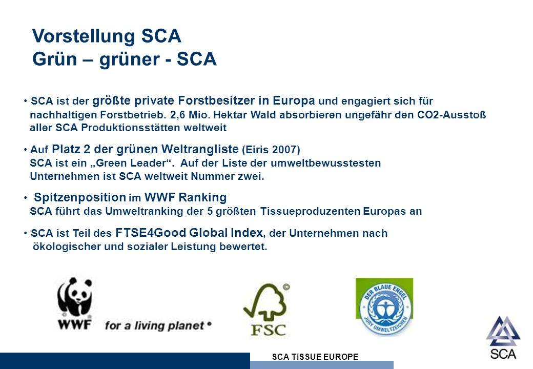 Vorstellung SCA Grün – grüner - SCA