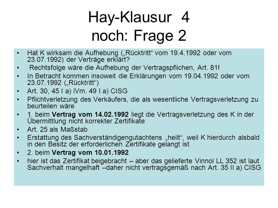 Hay-Klausur 4 noch: Frage 2