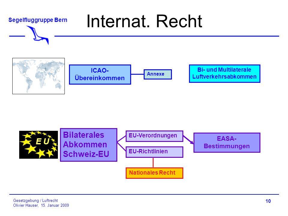 Bi- und Multilaterale Luftverkehrsabkommen
