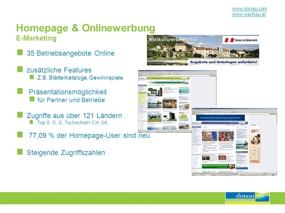 Homepage & Onlinewerbung E-Marketing