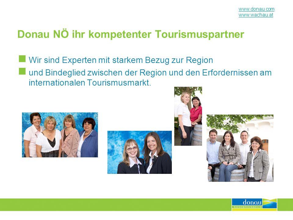 Donau NÖ ihr kompetenter Tourismuspartner