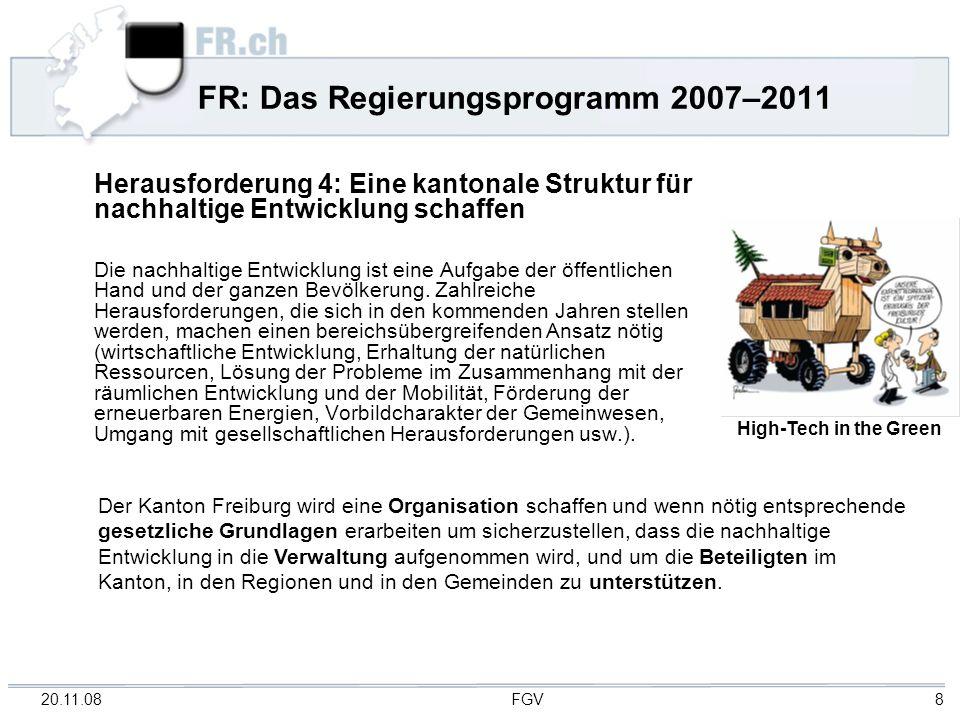 FR: Das Regierungsprogramm 2007–2011