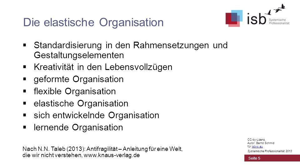 Die elastische Organisation