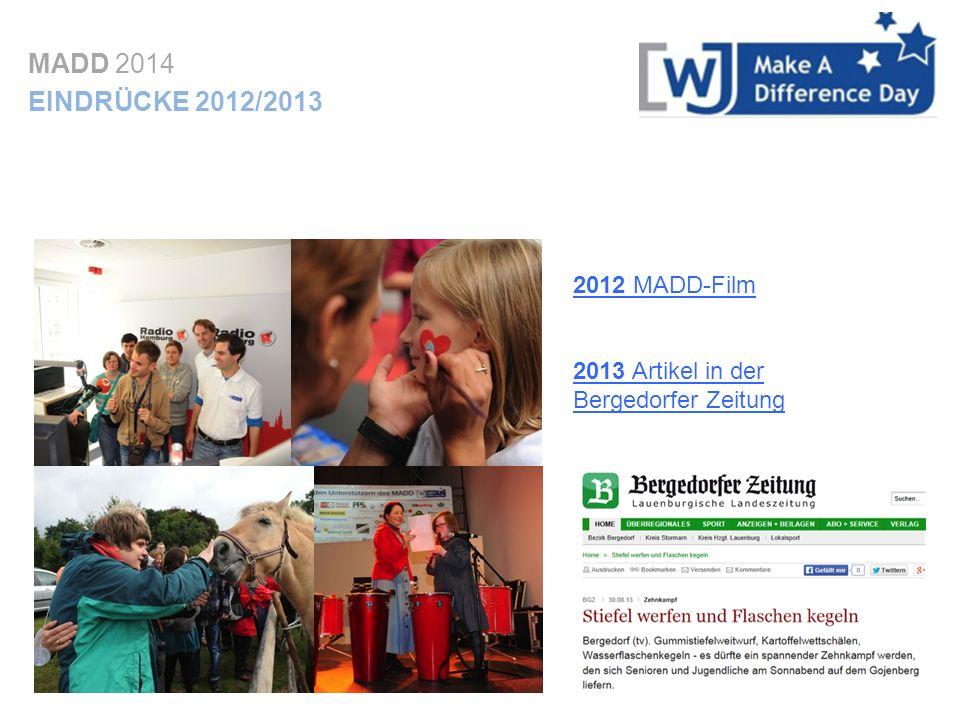 MADD 2014 EINDRÜCKE 2012/2013 2012 MADD-Film