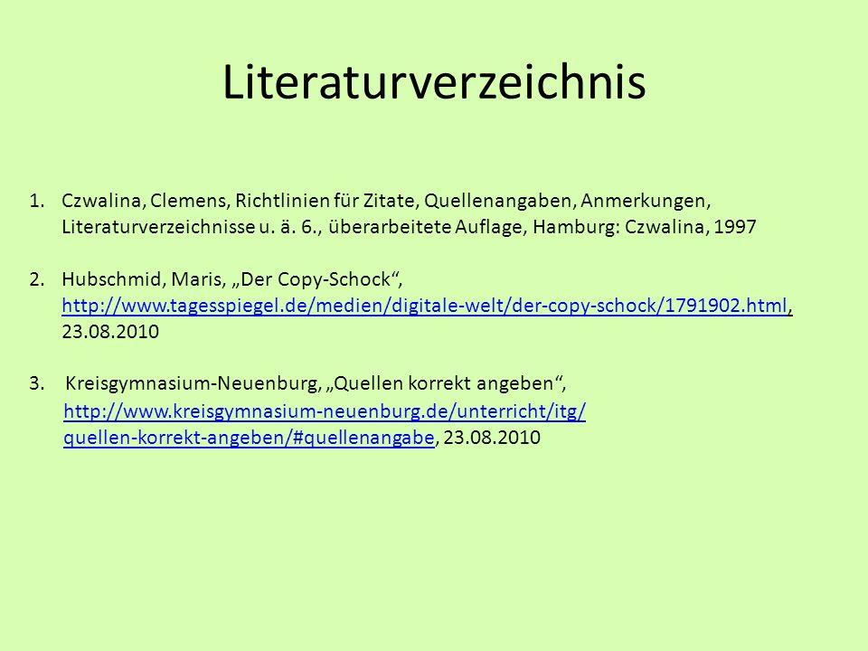 Richtig zitieren verwendung von zitaten ppt herunterladen - Hamburg zitate ...