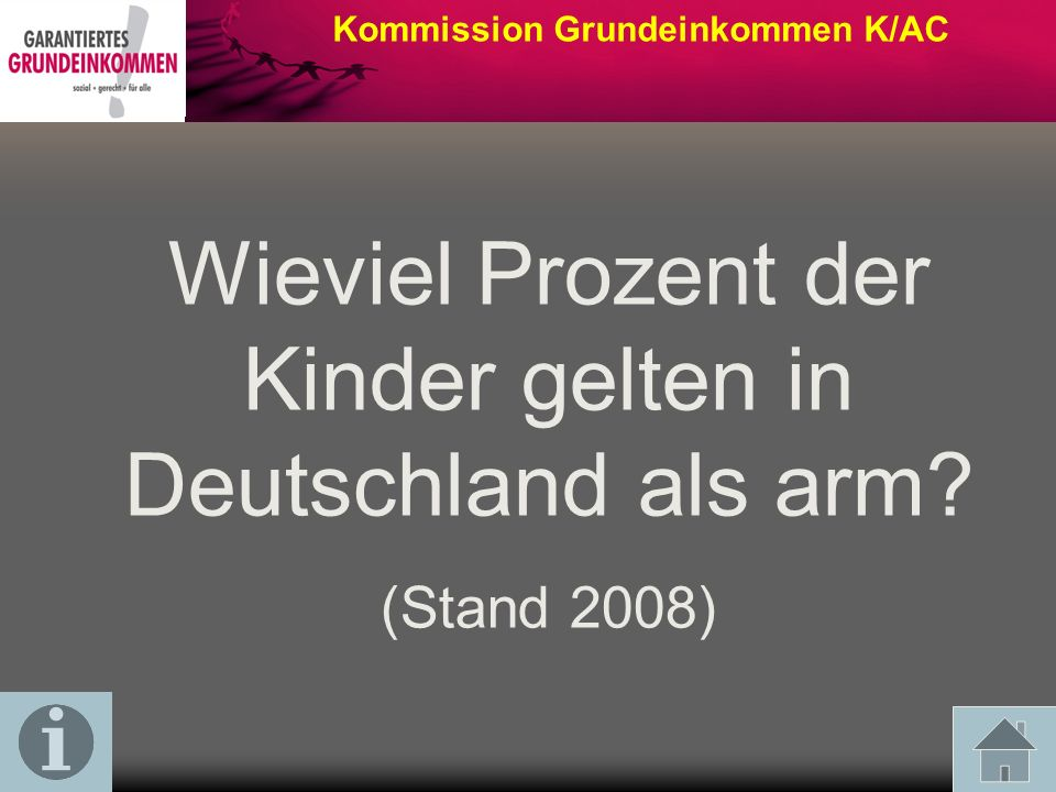 Wieviel Prozent der Kinder gelten in Deutschland als arm