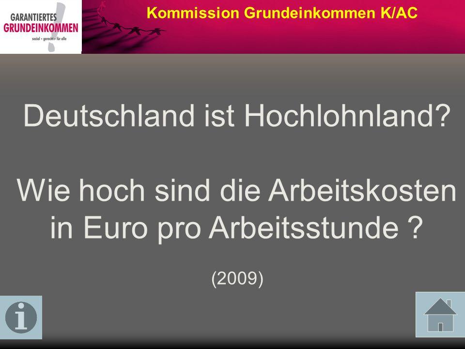 Deutschland ist Hochlohnland
