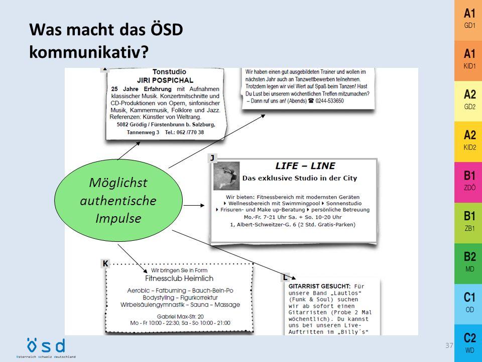 Was macht das ÖSD kommunikativ