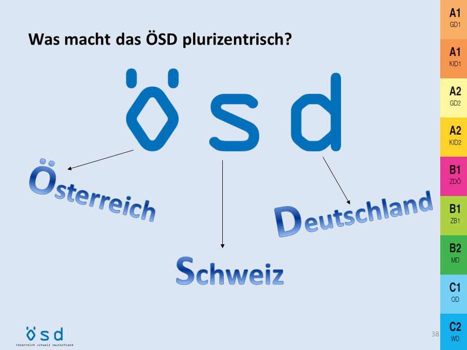 Was macht das ÖSD plurizentrisch