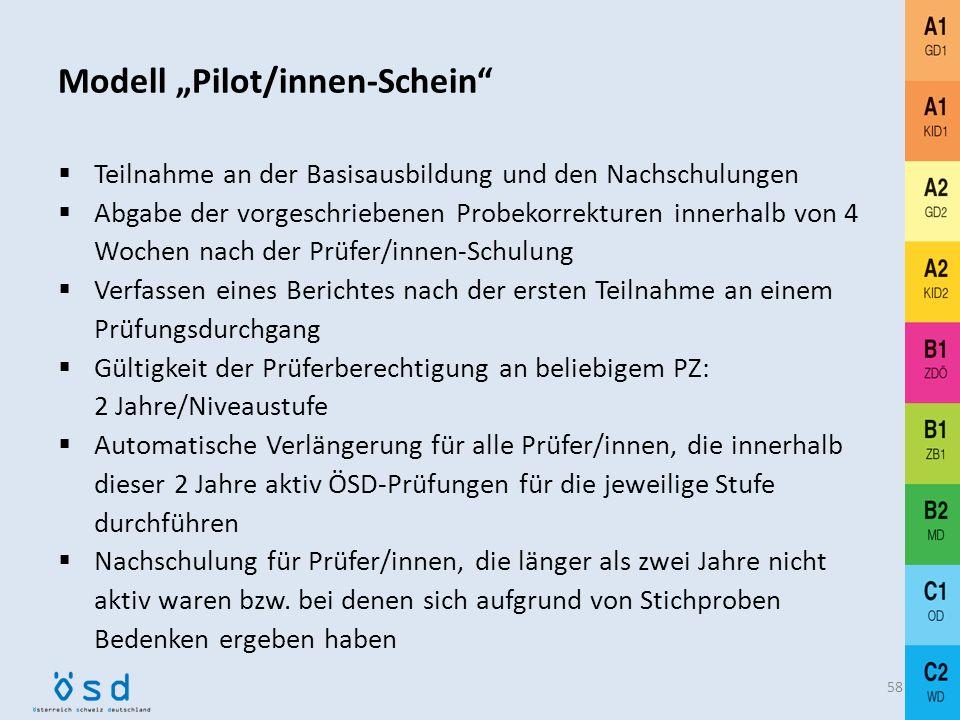 "Modell ""Pilot/innen-Schein"