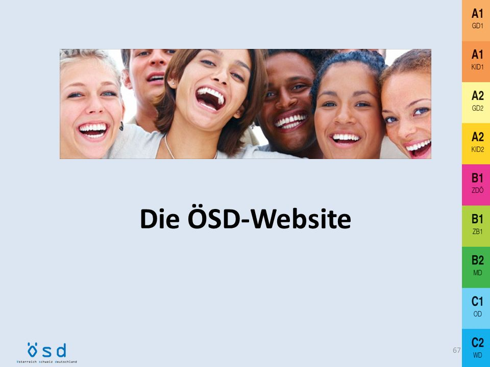 Die ÖSD-Website
