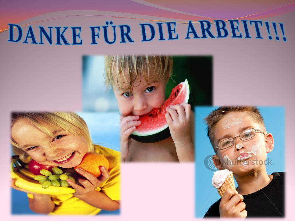 DANKE FÜR DIE ARBEIT!!!