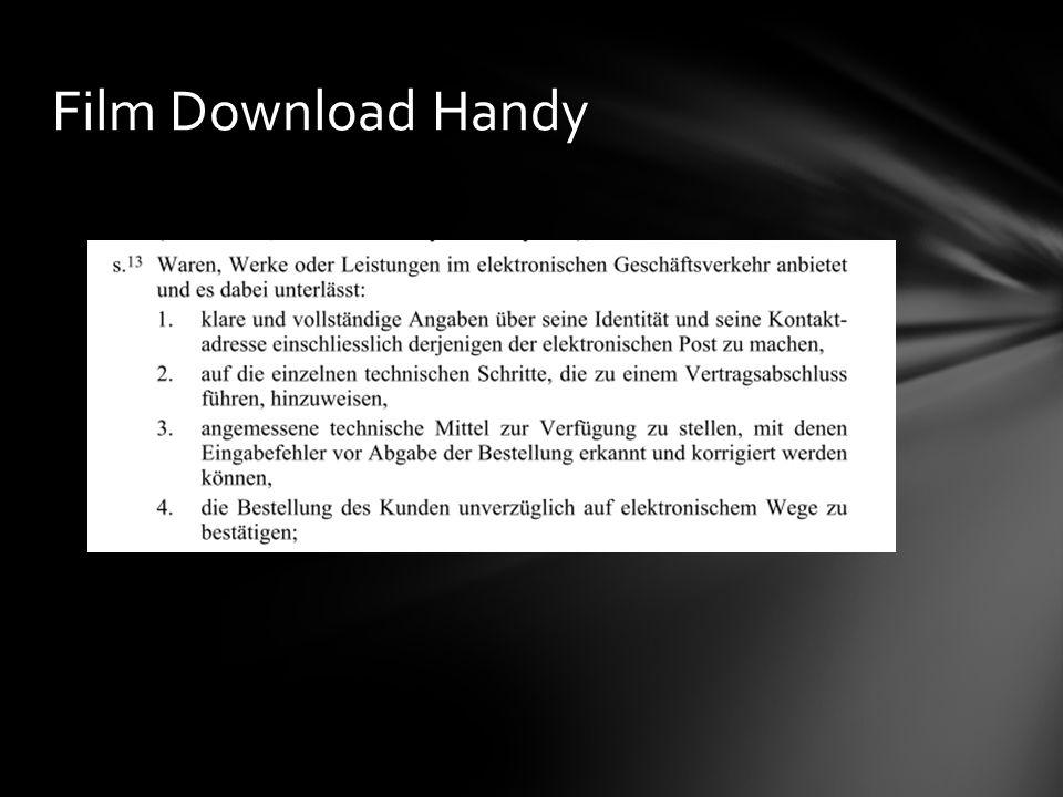 Film Download Handy