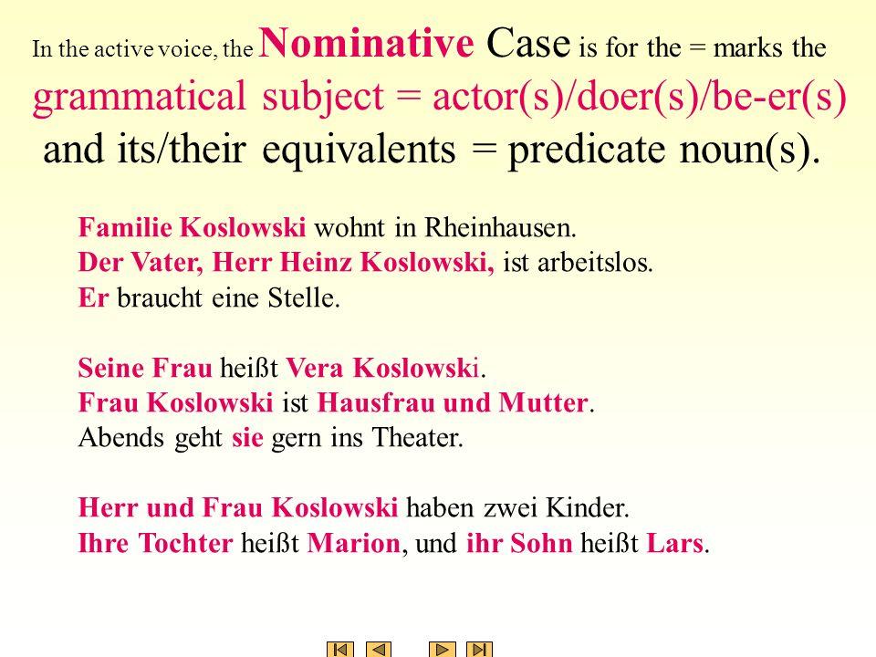 Familie Koslowski wohnt in Rheinhausen.