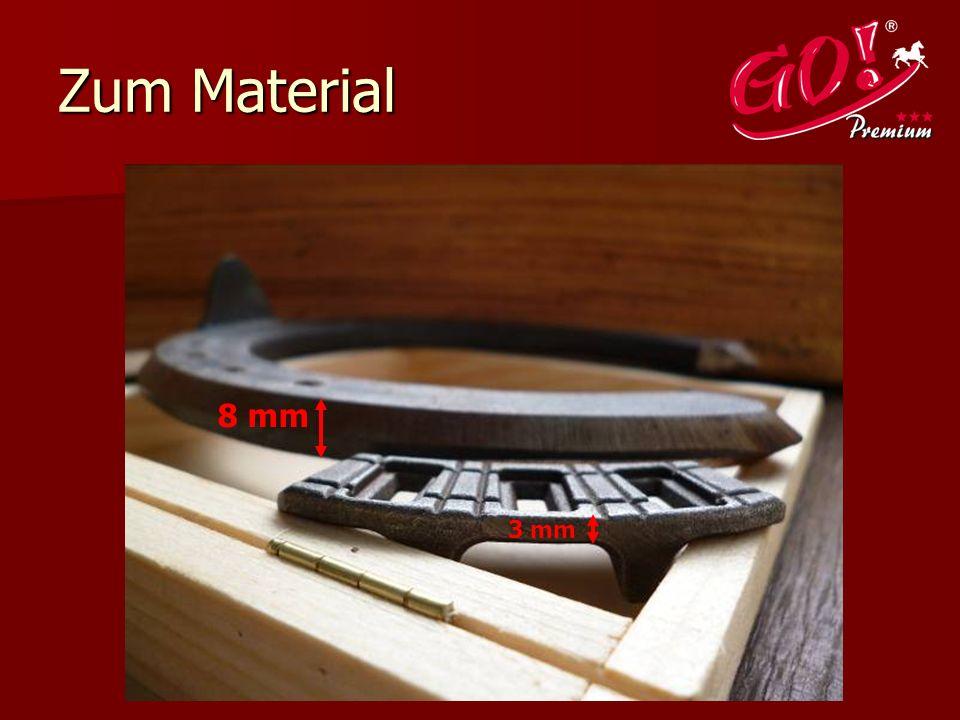 Zum Material 8 mm 3 mm