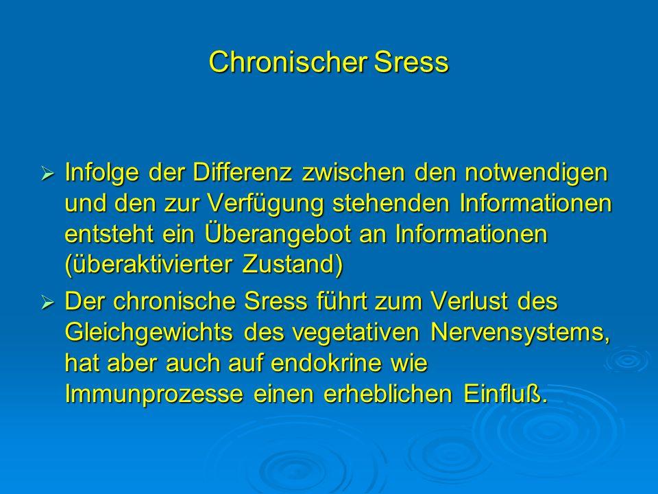Chronischer Sress