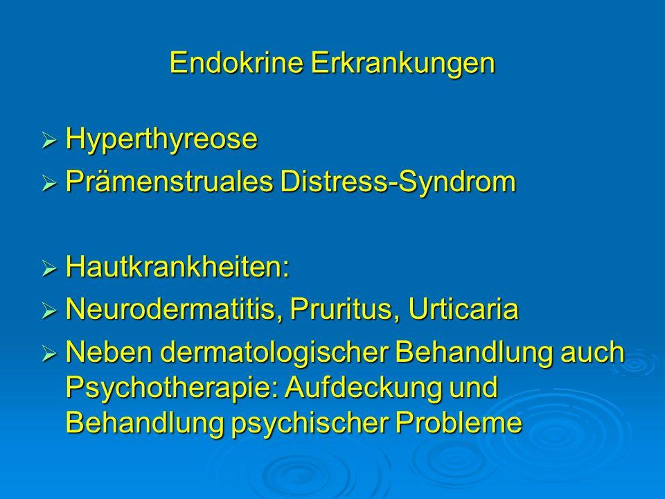 Endokrine Erkrankungen