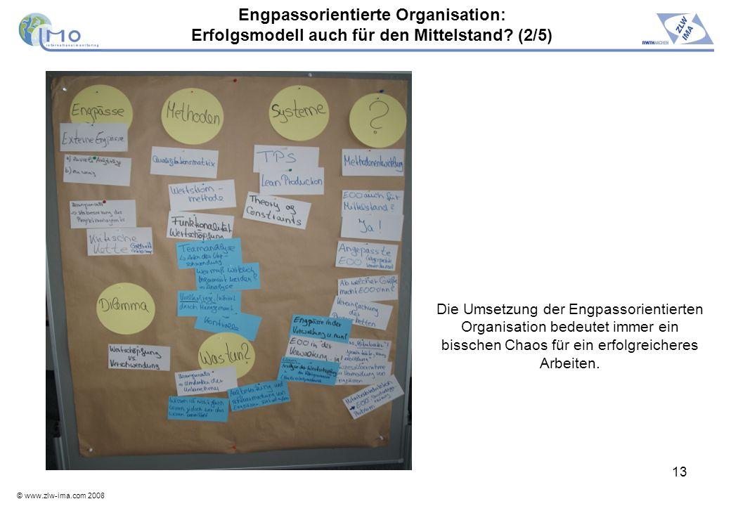 Engpassorientierte Organisation: Erfolgsmodell auch für den Mittelstand (2/5)