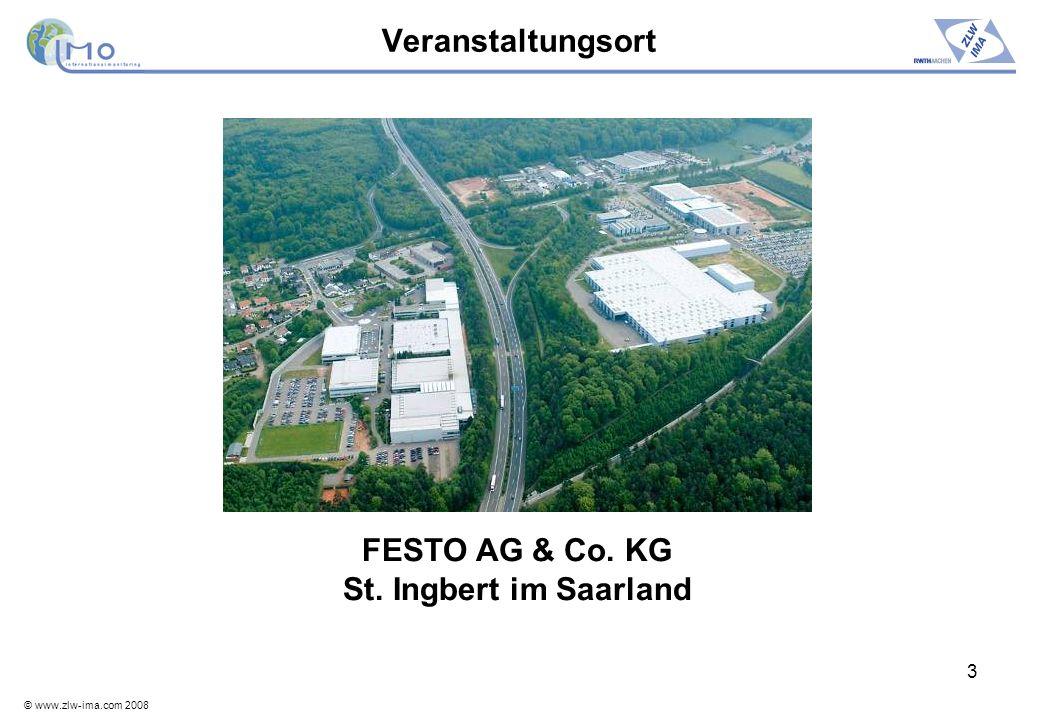 Veranstaltungsort FESTO AG & Co. KG St. Ingbert im Saarland