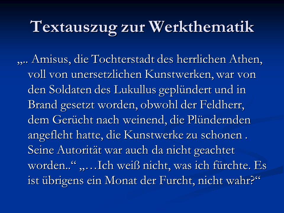 Textauszug zur Werkthematik