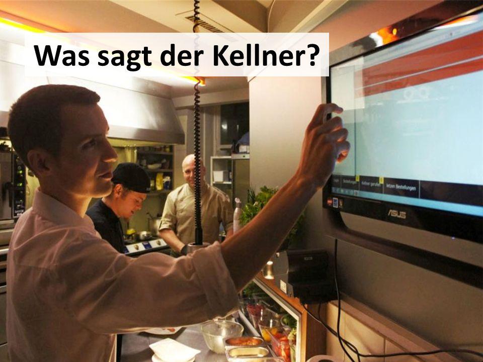 Was sagt der Kellner Markus