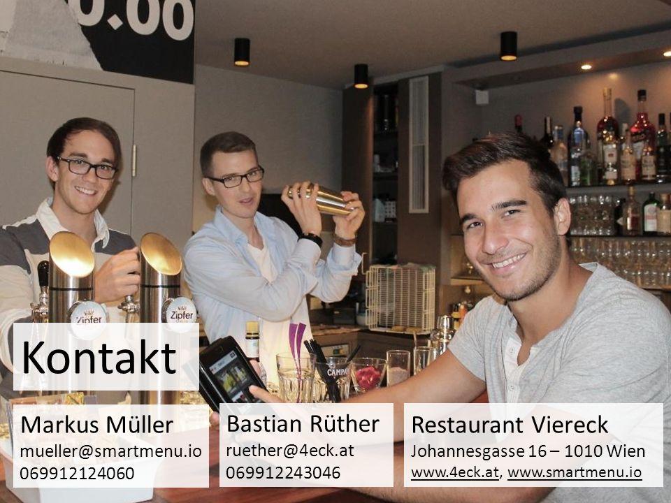 Kontakt Markus Müller mueller@smartmenu.io 069912124060