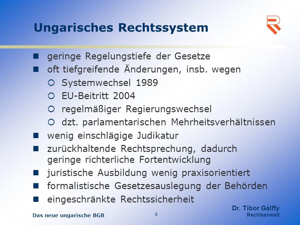 Ungarisches Rechtssystem