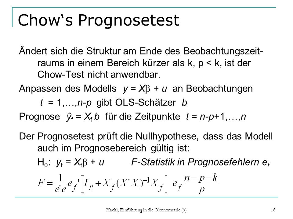 Hackl, Einführung in die Ökonometrie (9)