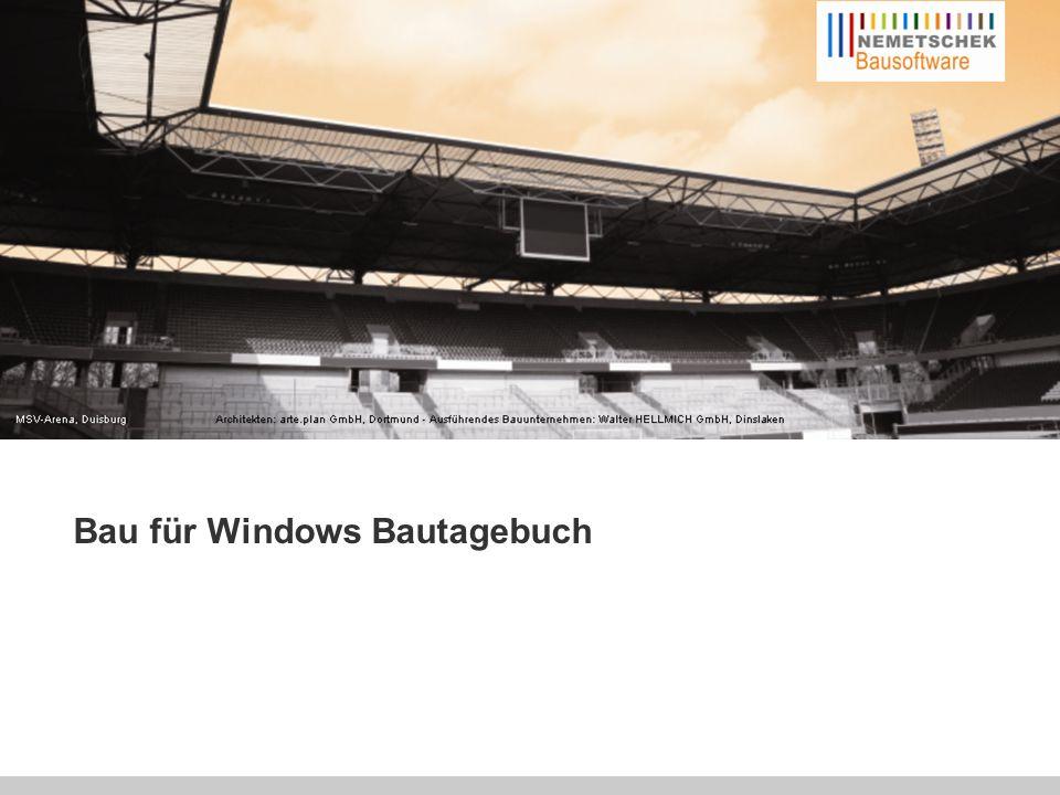 """Hardware Das Bau für Windows Bautagebuch kann als """"stand-alone-Lösung im Zusammenspiel mit dem Modul """"Baustellenrechner eingesetzt werden."""