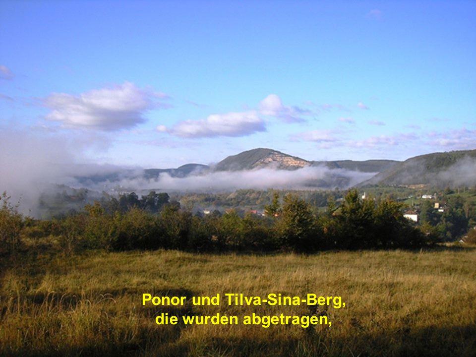 Ponor und Tilva-Sina-Berg,