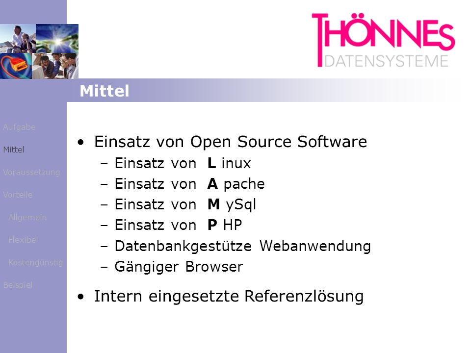 Einsatz von Open Source Software