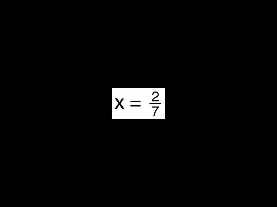 2x = |