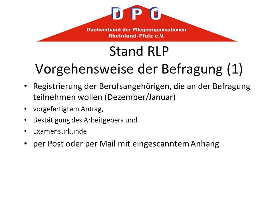 Stand RLP Vorgehensweise der Befragung (1)