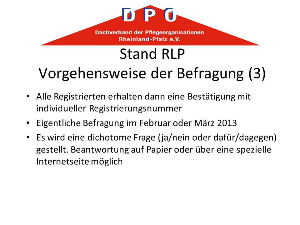 Stand RLP Vorgehensweise der Befragung (3)