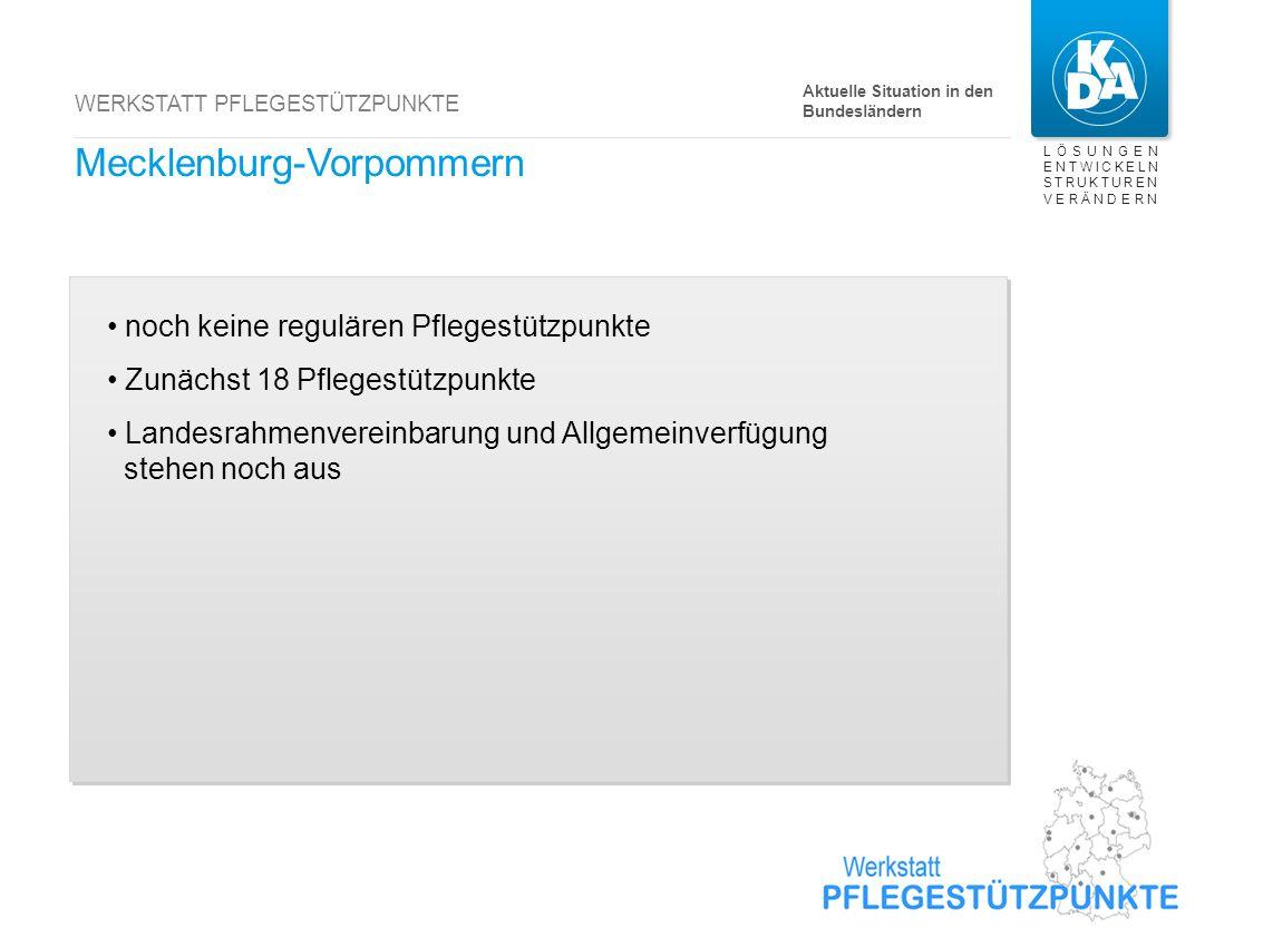 Hessen noch kein regulärer Pflegestützpunkt