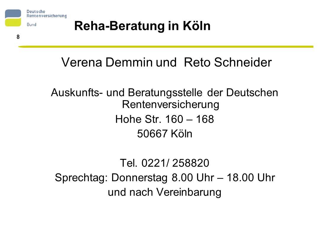 Verena Demmin und Reto Schneider