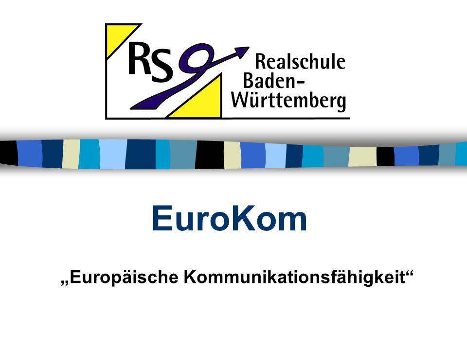 """""""Europäische Kommunikationsfähigkeit"""
