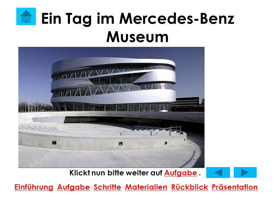 Ein Tag im Mercedes-Benz Museum