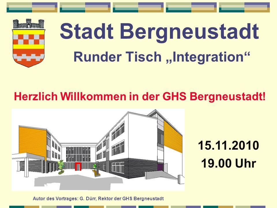 """Stadt Bergneustadt Runder Tisch """"Integration"""