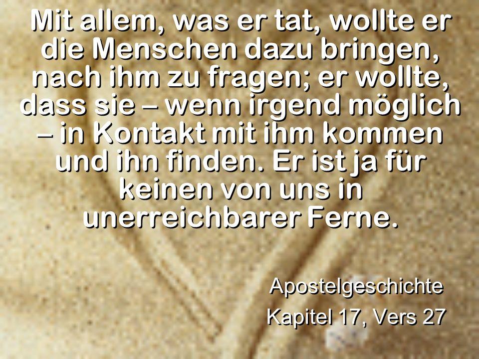 Apostelgeschichte Kapitel 17, Vers 27