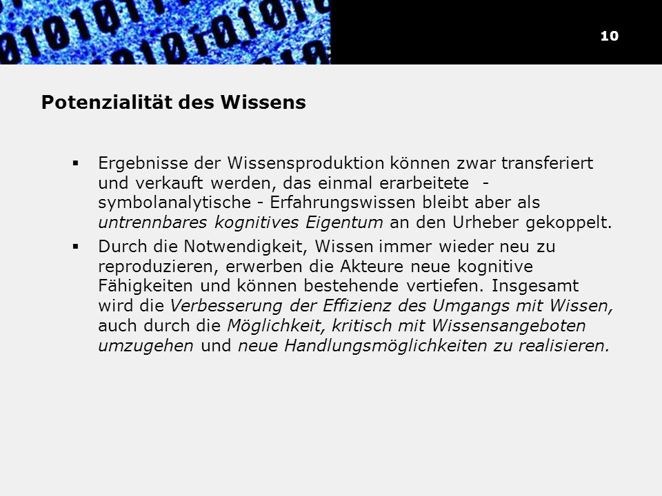 Theoretiker der Informations-/Wissensgesellschaft