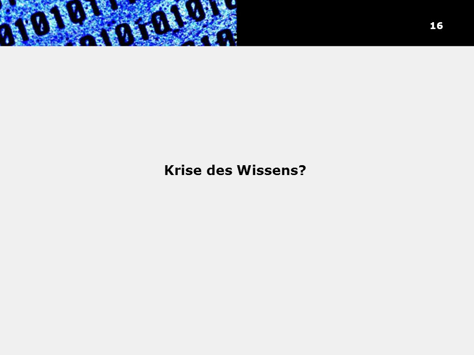 """""""Verdopplung des Weltwissens"""