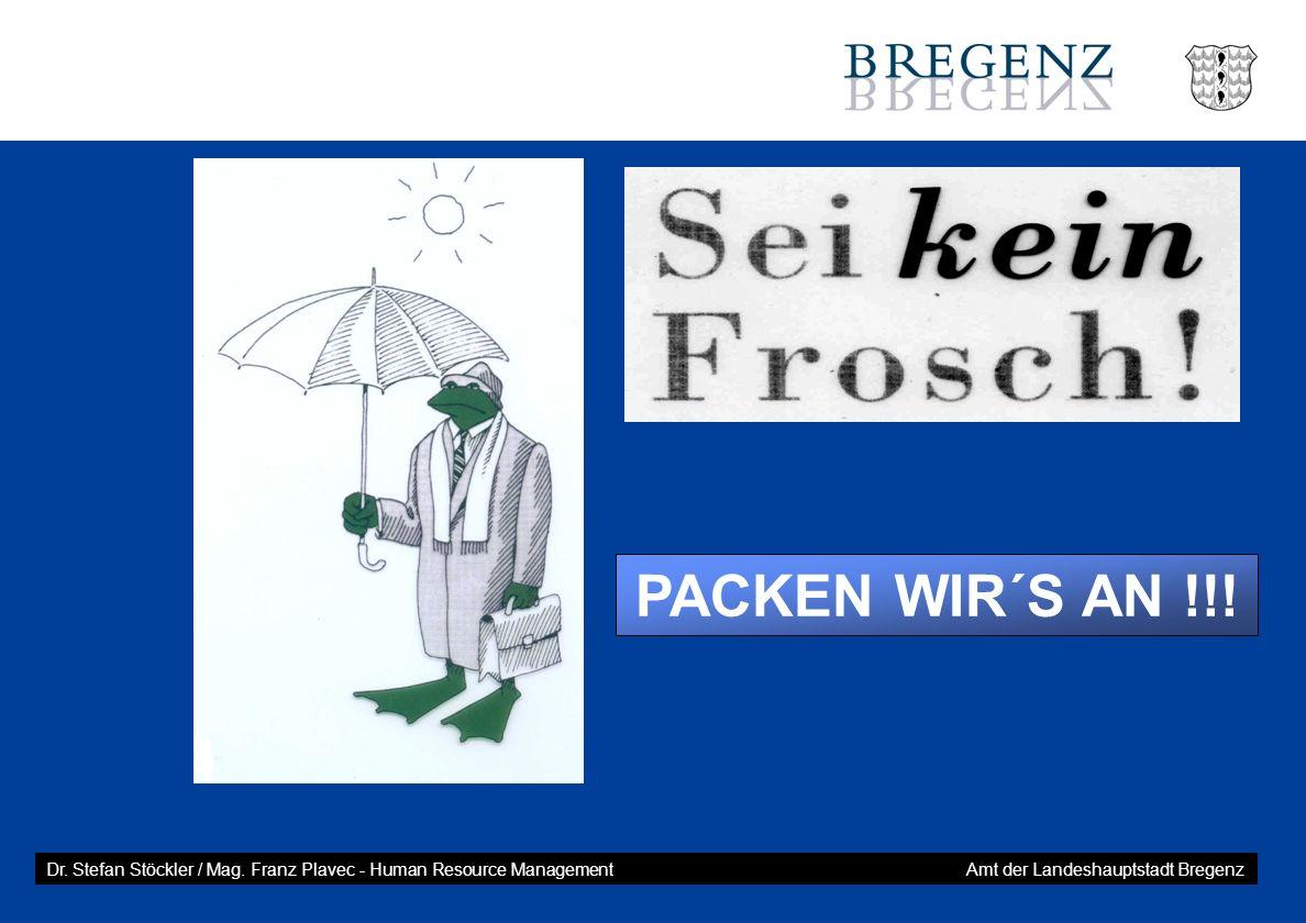 PACKEN WIR´S AN !!. Dr. Stefan Stöckler / Mag.