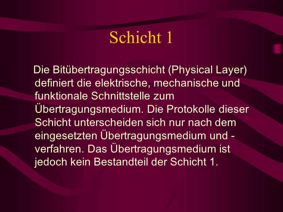 Schicht 1