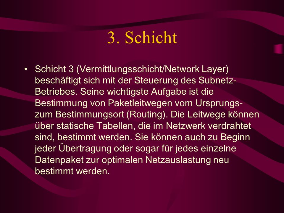 3. Schicht