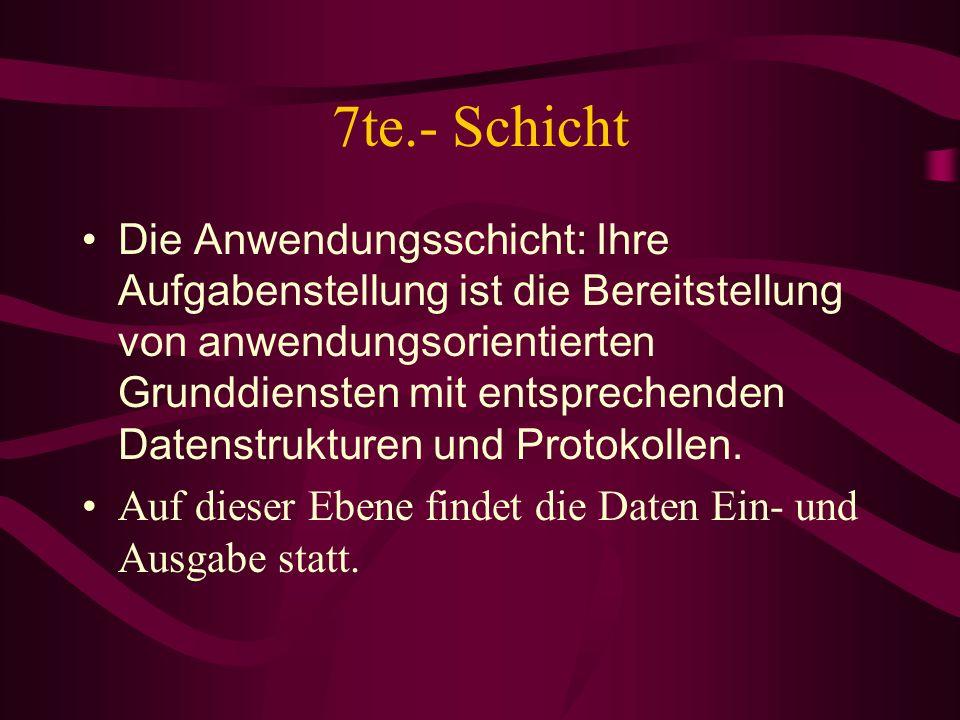 7te.- Schicht